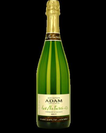 """Crémant d'Alsace """"Les Natures"""" - Jean-Baptiste Adam"""