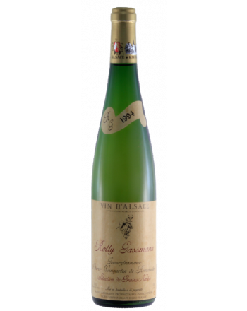 Gewurztraminer Oberer Weingarten de Rorschwihr Sélection de Grains Nobles 1994 - Rolly-Gassmann