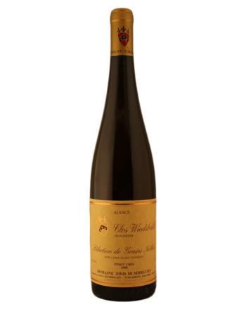 Pinot Gris Clos Windsbuhl Sélection de Grains Nobles 2008  - Zind Humbrecht