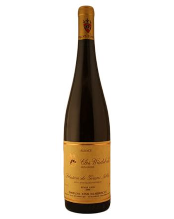 Pinot Gris Clos Windsbuhl Sélection de Grains Nobles 2010  - Zind Humbrecht