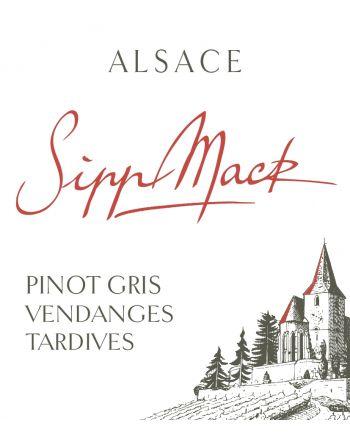 Pinot Gris Amélie Vendanges Tardives 2015  - Sipp-Mack