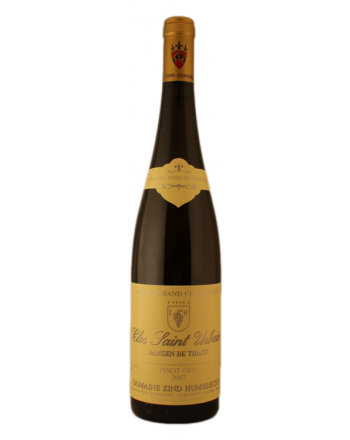 Pinot Gris Grand Cru Rangen de Thann Clos St-Urbain 2015 - Zind Humbrecht
