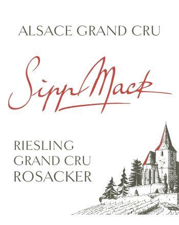 Riesling Grand Cru Rosacker 2014 - Sipp-Mack