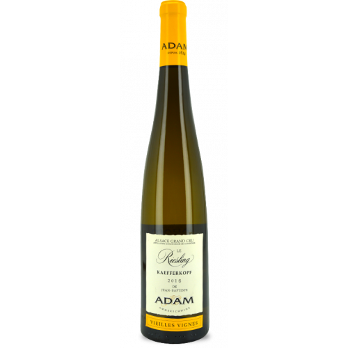 Riesling Grand Cru Kaefferkopf Vieilles Vignes 2016 - Jean-Baptiste Adam