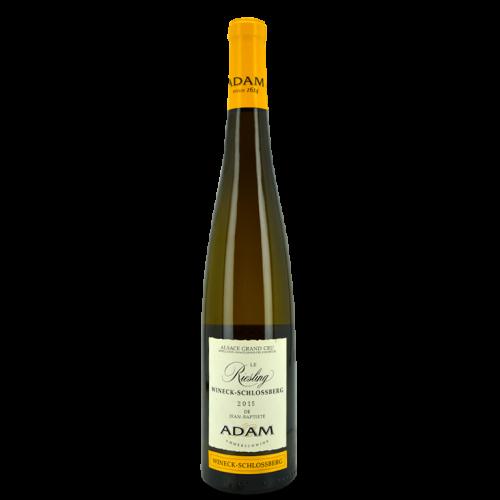 Riesling Grand Cru Wineck-Schlossberg 2015 - Jean-Baptiste Adam