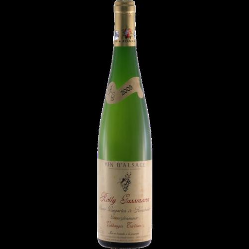 Gewurztraminer Oberer Weingarten de Rorschwihr Vendanges Tardives - Rolly-Gassmann