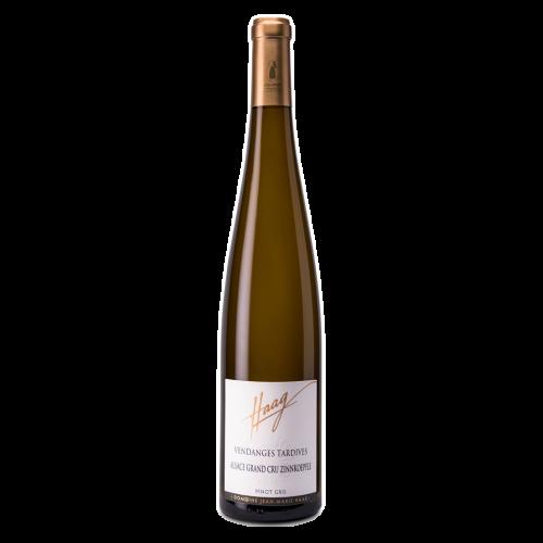 Pinot Gris Grand Cru Zinnkoepflé Vendanges Tardives 2015 - Jean-Marie Haag