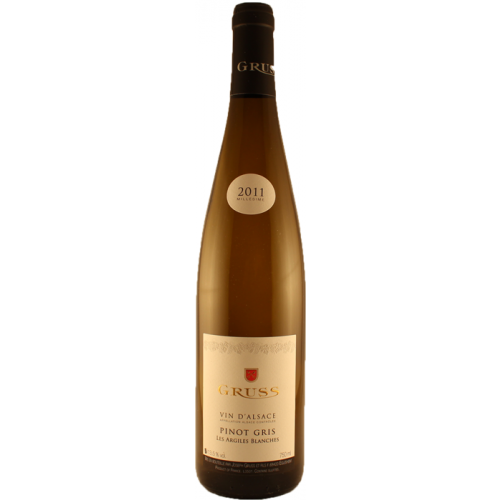 Pinot Gris Les Argiles Blanches - Gruss