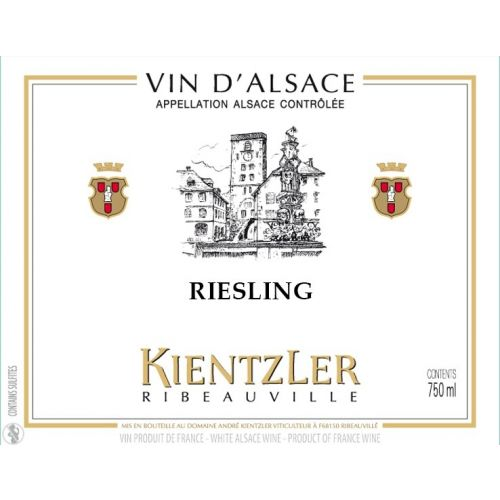 Riesling 2018 - Kientzler