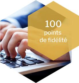 100 points de fidélité